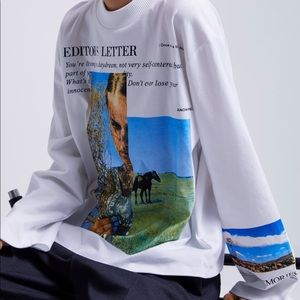 Printed photograph shirt